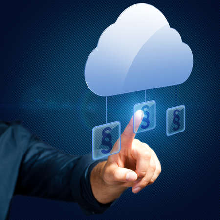 selects: hand selects an paragraph article related to the cloud
