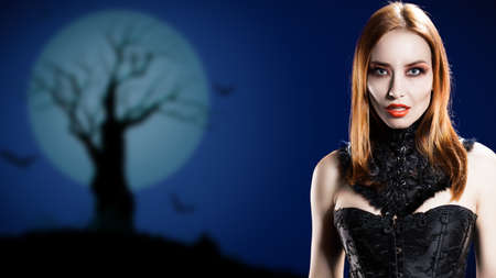 lamia: attractive vampire