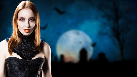 malevolent: attractive vampire