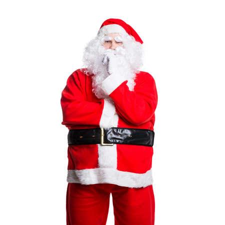 sceptical: sceptical santa claus
