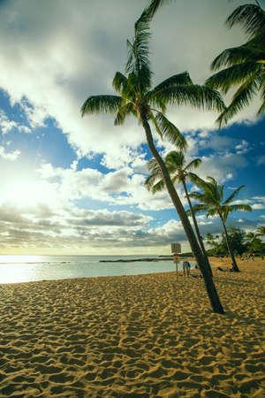 kauai: Poipu beach park, kauai, hawaii