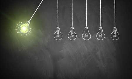 een idee is het starten van een kettingreactie van de volgende ideeën