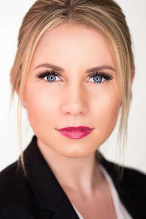 envisage: attractive blonde  businesswoman