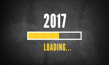 booting: progress bar showing loading of 2017 Stock Photo