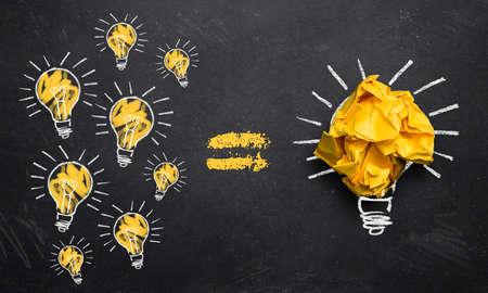 many small ideas lead to big innovation