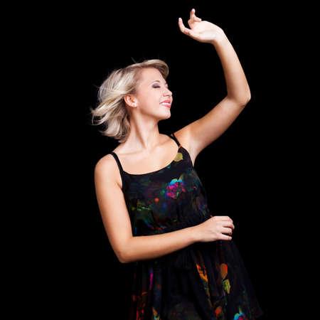 ravishing: dancing woman