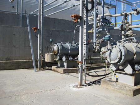 petrolium: Oil refinery. Equipment for primary oil refining.