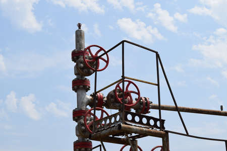 oil well: Oil well Stock Photo