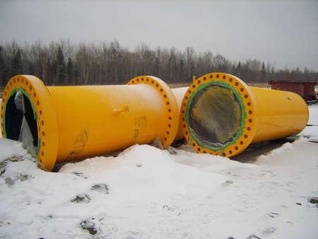 transporte terrestre: La construcción del gasoducto en el suelo. El transporte de los portadores de energía.