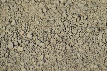 Tło z suchej ziemi. Gleba na polnej drodze.