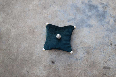 stuffed toys: The pad on the background of concrete. Stuffed Toys.