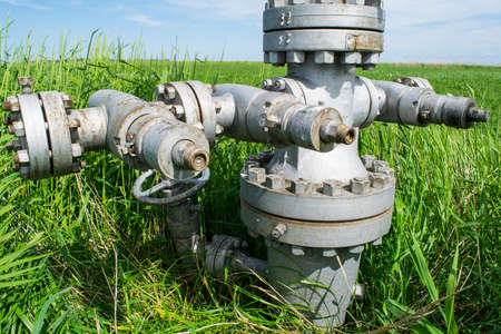 flanges: Flanges on the downhole equipment. Equipment of an oil well. Shutoff valves and service equipment.