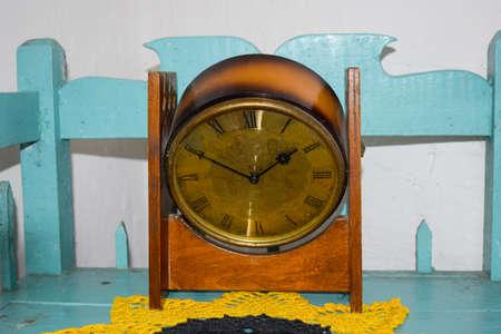 Antique vintage watches. Home Watch the beginning of the twentieth century. Stock Photo
