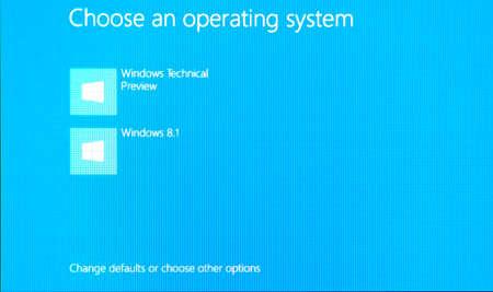 러시아, Poltavskaya 마을 -2016 년 8 월 13 일 : Windows 8.1 운영 체제의 로고 화면.