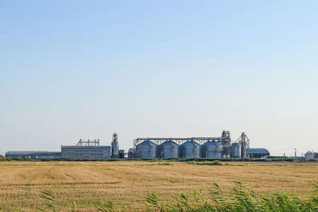 staging: Plant for storage and processing of grain