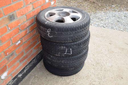 winter tires: Four wheel drive. Rubber tires. Summer rubber set for the car.