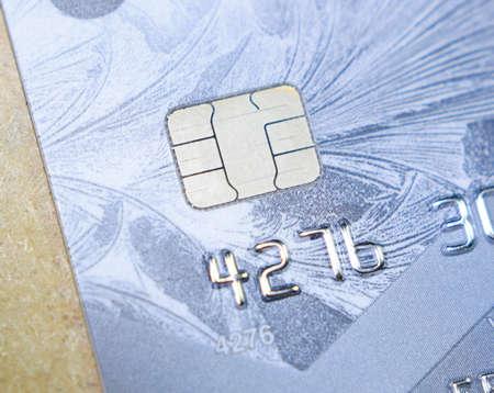 Bank cards. Modern financial instrument of cashless payment.