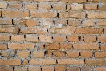 Background texture of limestone blocks wall. Old fortress wall blocks