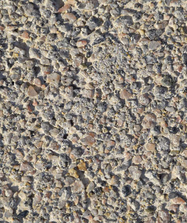 The texture of paving slabs close up. Close-up of paving slabs. Background of frozen cement. Stockfoto - 129488046