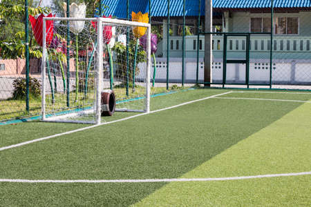 kunstgras voetbalveld