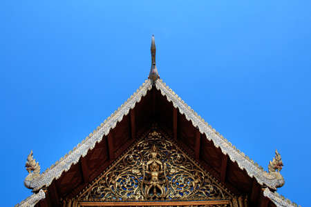 Wat Phra Singh , temple in Chiang Mai, Thailand.
