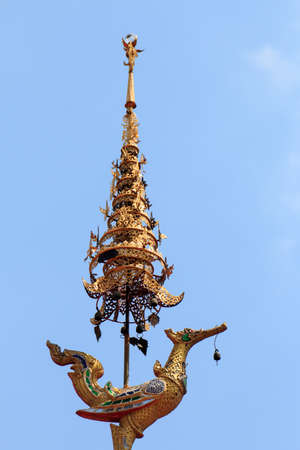 Wat Chai Mongkon - Buddhist Temple , Chiang Mai Thailand Stock Photo