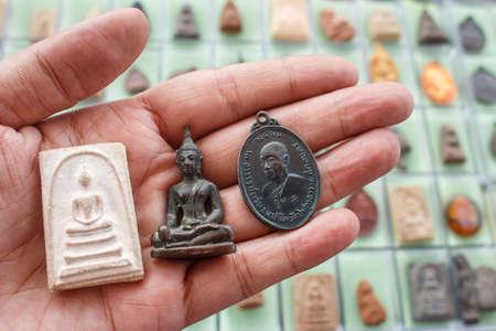 Small Buddha image or Thai Amulets & Talismans