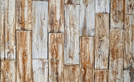 perfectly: Perfectly lit wooden background with weathered wood and ruusty nails