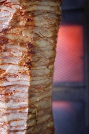 Traditional tirkish grilled meat - doner kebab Stock Photo - 10128114