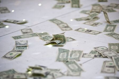 big money earned in very short time Stock Photo - 14932712