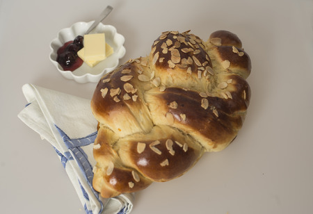 turkish bread: Turkish bread traditionally baked in the ashes of the fireplace, and later on in the oven