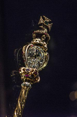 regalia: Royal jewelery - symbol of British monarchy