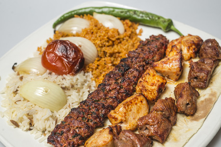 전통 터키 음식 - 케밥 선택