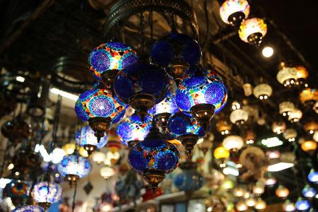 Decorative Lights shop in Istanbul Turkey
