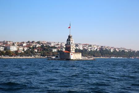 Maiden Tower in Istanbul Turkey