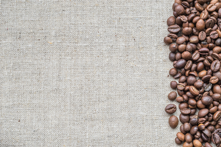 invigorate: Background from flax and grain coffee