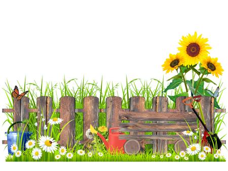 daisywheel: Rural landscape