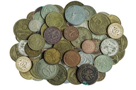 investmen: Much old metallic coins