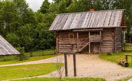 Old rural wooden building