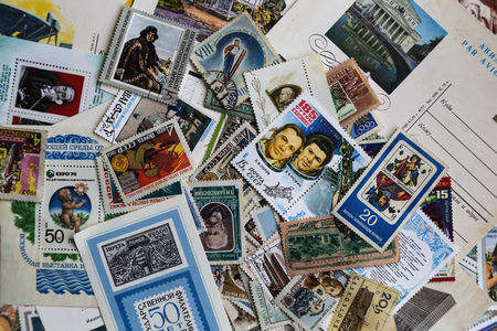 Postage stamps old lot