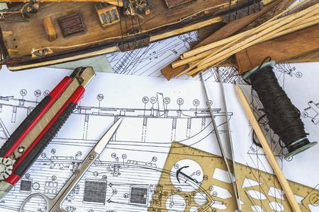 Ship model making