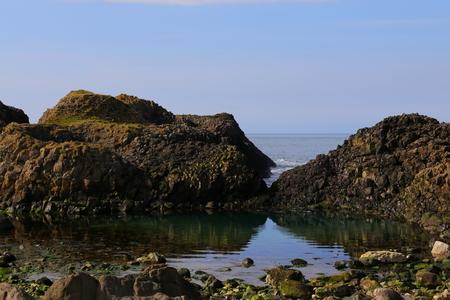 view of the Irish coast Stock Photo