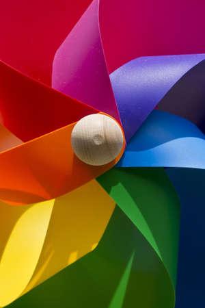 pinwheel children's playground Stock Photo - 10568826