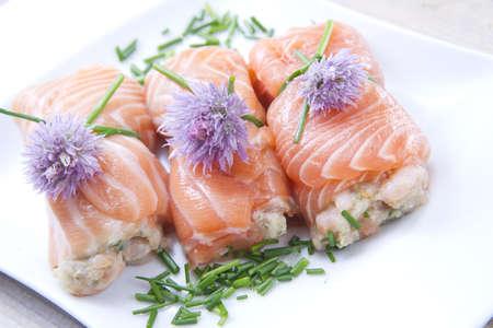 infoltini salmon photo