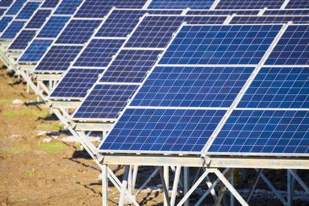 photovoltaic panel Stock Photo - 10879432
