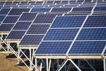 Photovoltaik-Panel Standard-Bild - 10879436