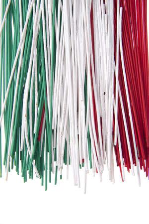 spaghetti tricolor photo