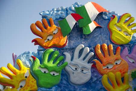 viareggio: carnival of viareggio italy