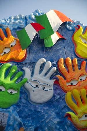 carnival of viareggio italy Stock Photo - 11016983