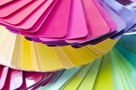 range of colors